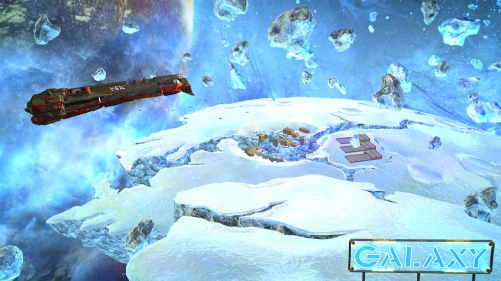 ฉากอันสวยงามของ Ice Storm