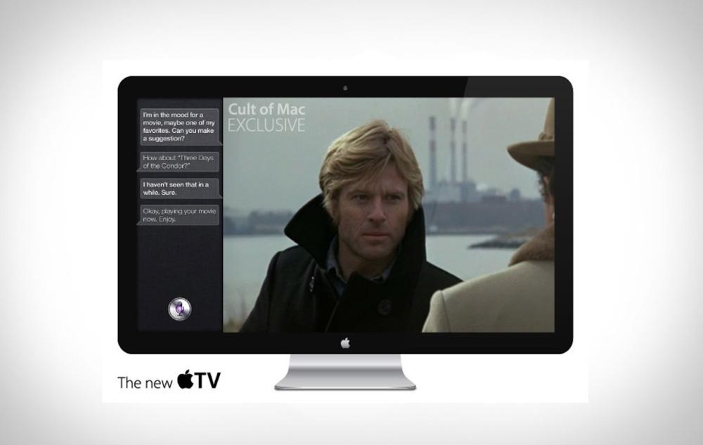 เครื่องรับโทรทัศน์ของ Apple จากจินตนาการของนักออกแบบ