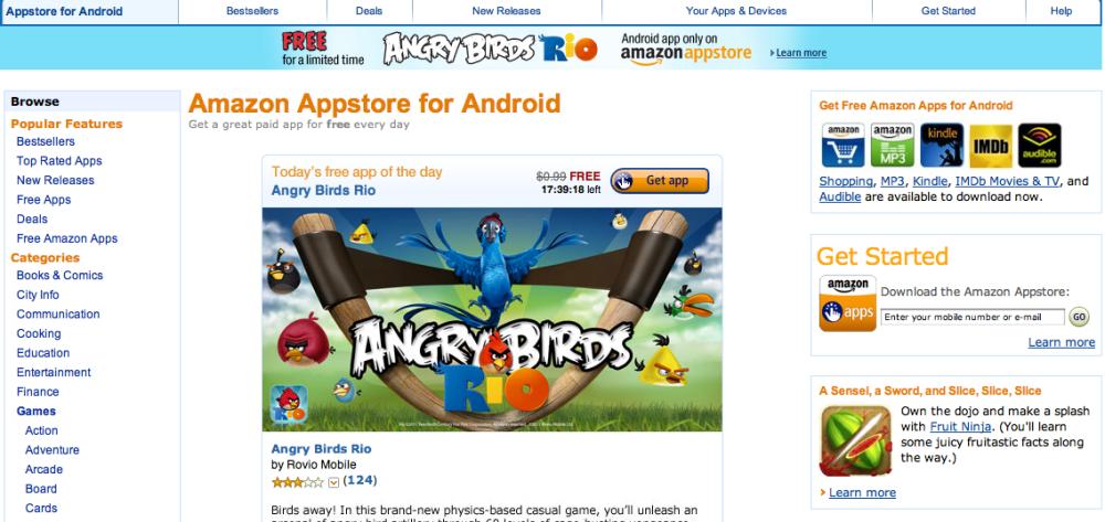 หน้าตาของ Appstore for Android ที่มุ่งมั่นแก้ไขปัญหาของ Android Market อย่างจริงจัง