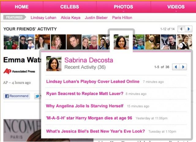 Yahoo! News US อีกหนึ่งในสำนักข่าวที่ประสบความสำเร็จจาก Frictionless Sharing เพื่อเพิ่มยอดผู้เข้าชม