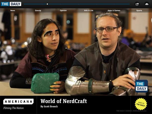 World of Nerdcraft วิดีโอบน The Dail ที่หาดูจากที่อื่นไม่ได้