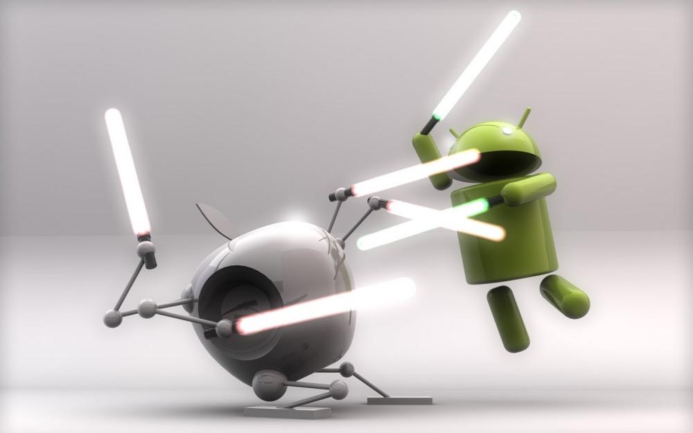 ศึกระหว่าง Android กับ iOS ยังอีกนานกว่าจะสิ้นสุด