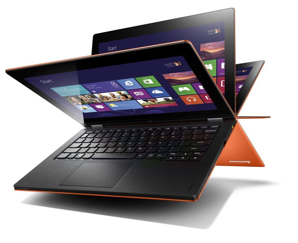 Lenovo IdeaPad Yoga 13 หนึ่งในอุปกรณ์ Windows 8 ที่ออกแบบมาได้แปลกที่สุด