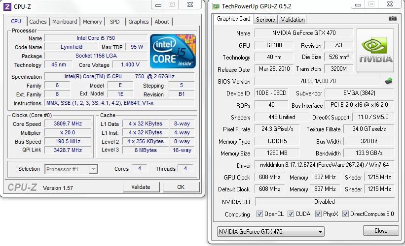 CPU-Z และ GPU-Z สองยูทิลิตี้คู่บุญที่ควรติดตั้งไว้ในพีซีทุกเครื่อง