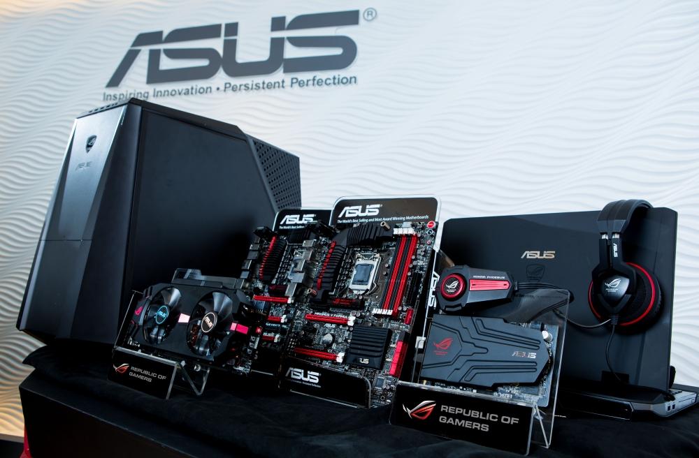หนึ่งในตัวอย่างผลิตภัณฑ์จาก ASUS ที่ได้รับการเปิดตัวในงาน Computex 2012