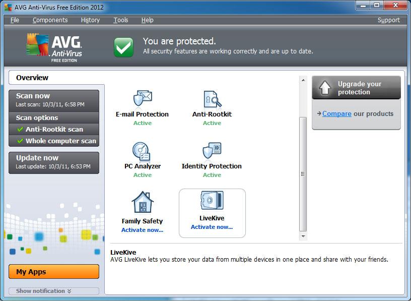 AVG Anti-Virus 2012