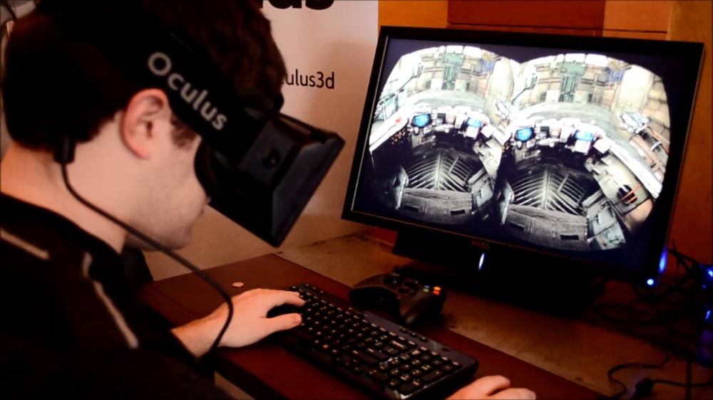 แว่น Oculus Rift หากได้ใส่คงถอนตัวไม่ขึ้น