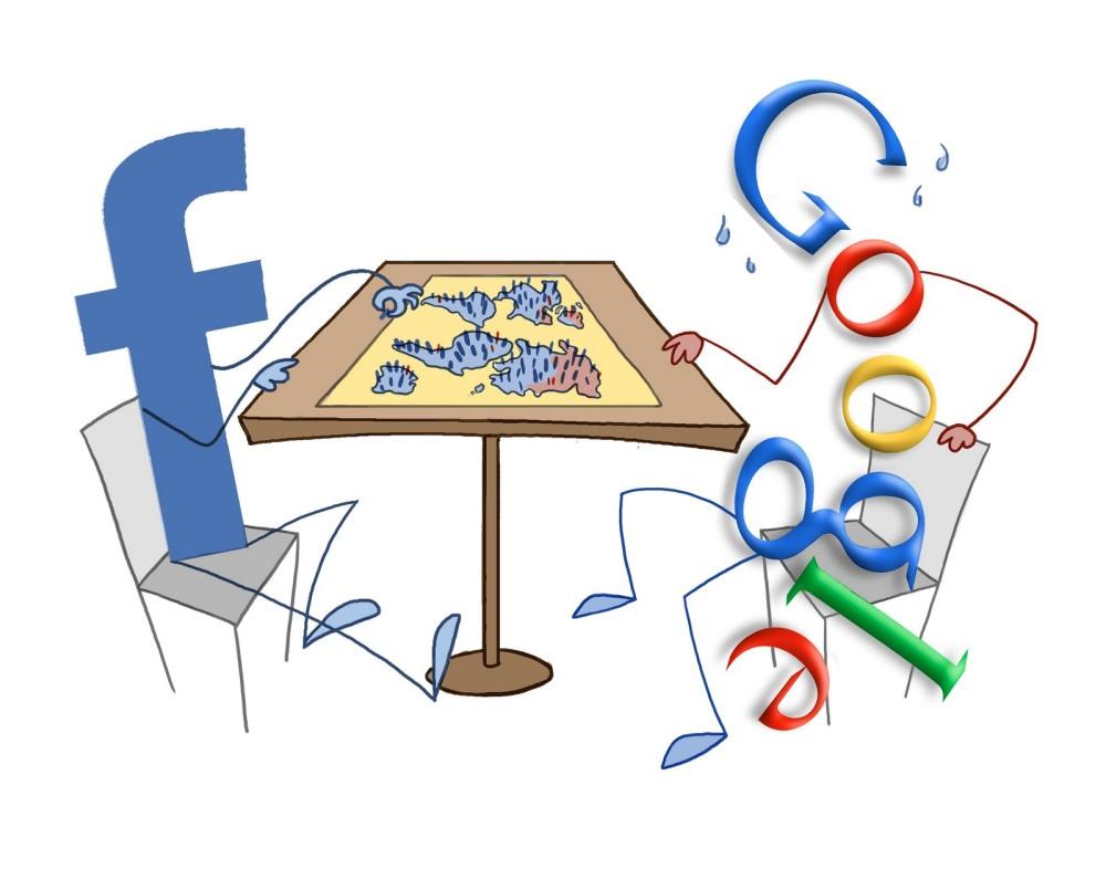 faceook กับ Google+ สองบริการเครือข่ายสังคมยักษ์ใหญ่ที่ขับเคี่ยวกันอยู่ตลอดเวลา