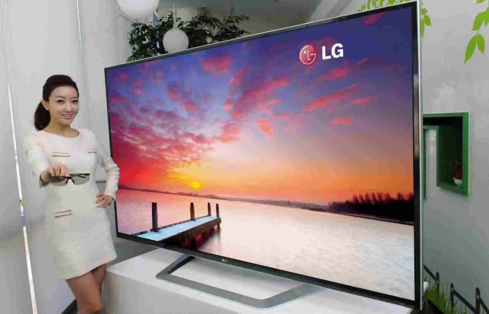 ตัวอย่างทีวี Ultra High-Definition จาก LG