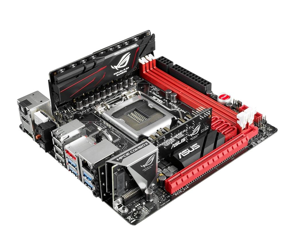ASUS Maximus VI Impact เมนบอร์ดซีรีส์ RoG ตัวแรกที่มีขนาด mini-ITX