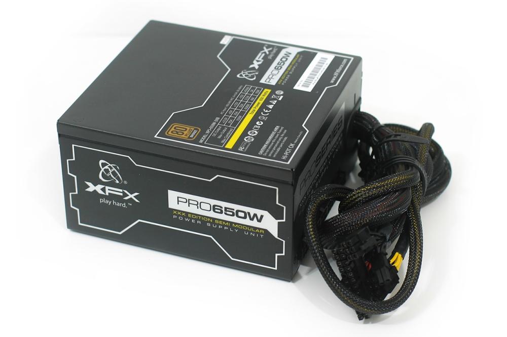 XFX Pro Series 650W XXX Edition