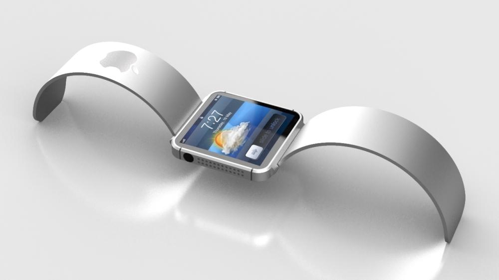 นาฬิกาข้อมือไฮเทคจาก Apple ซึ่งขณะนี้ยังเป็นเพียงจินตนาการของนักออกแบบ