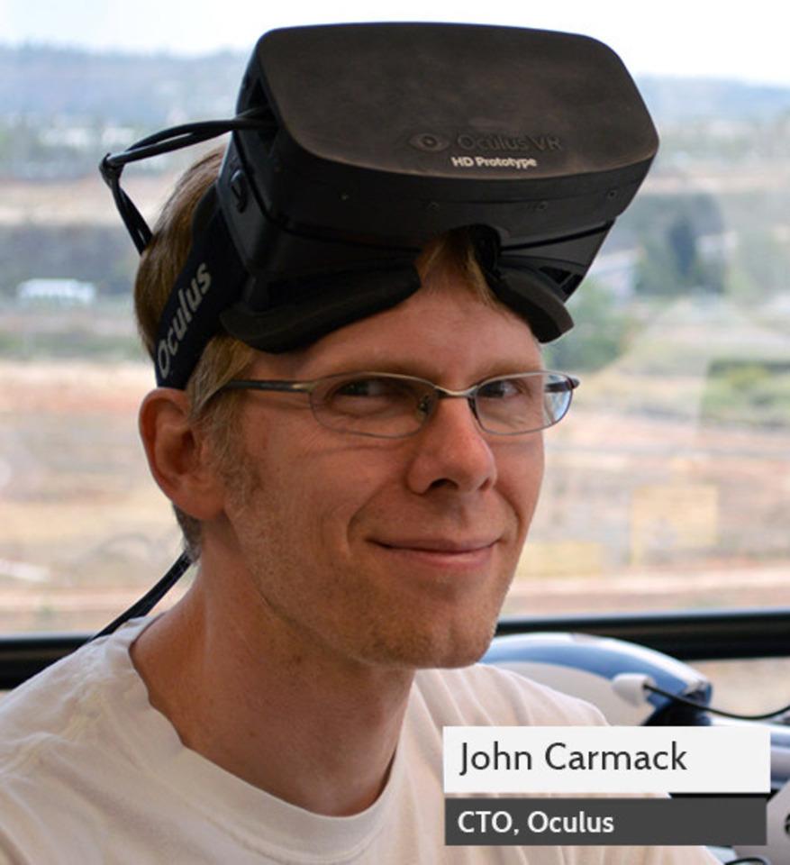 John Carmack ผู้สร้าง Doom ปัจจุบันเขาเข้ามารับตำแหน่ง CTO ของ Oculus Rift เรียบร้อยแล้ว