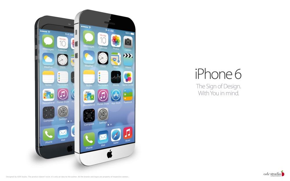 iPhone รุ่นใหม่ จากจินตนาการของนักออกแบบ