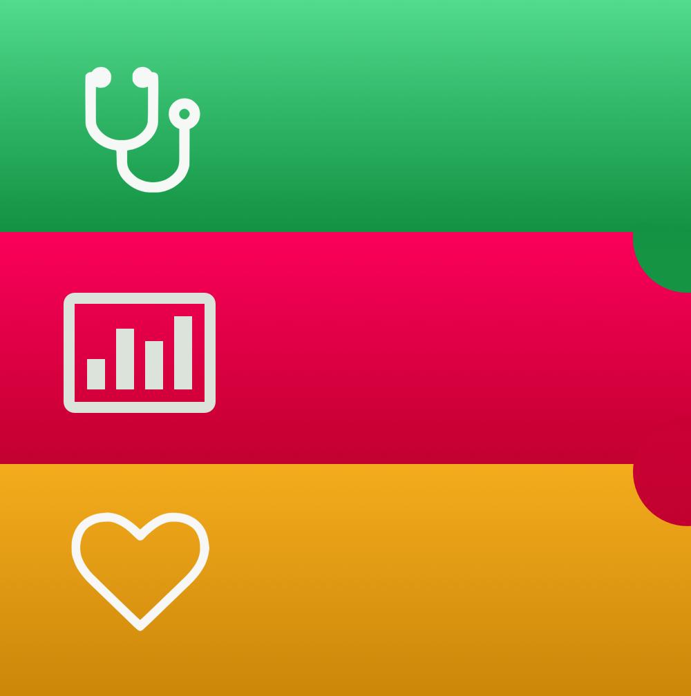 ไอคอน Healthbook ที่นักออกแบบจงใจทำให้คล้ายกับ Passbook