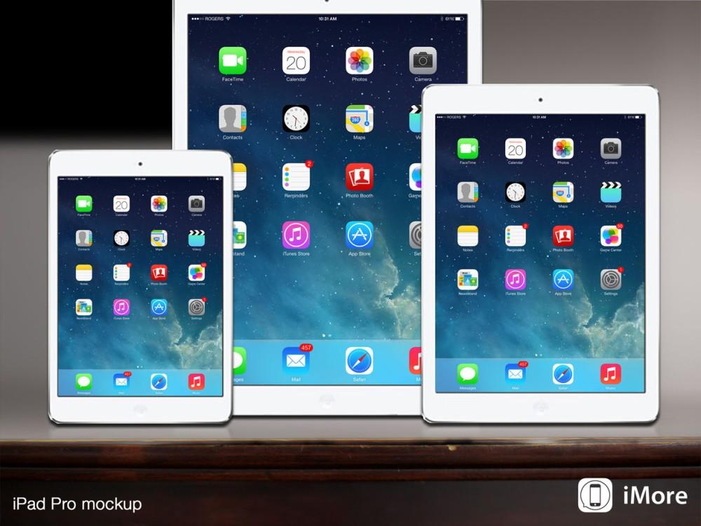 ไม่แน่ว่าอีกหน่อยเราคงได้เห็น iPad วางขาย 3 ขนาดแบบนี้