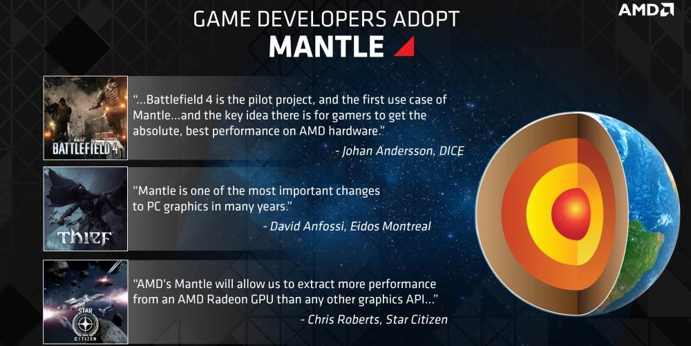 บรรดาเกมที่ออกมารองรับ Mantle