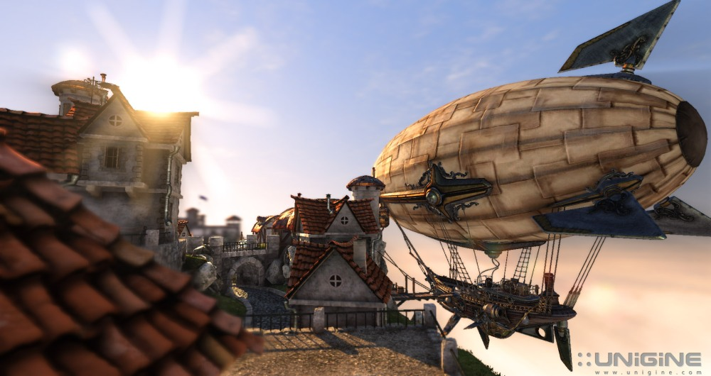 Unigine Heaven หนึ่งในซอฟแวร์วัดประสิทธิภาพ DirectX 11 ที่ได้รับความนิยม