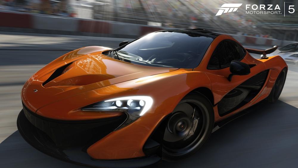 ภาพจากเกม Forza Motorsport 5 หวังว่าพอมาลงพีซีแล้วจะได้ภาพสวยขนาดนี้นะ