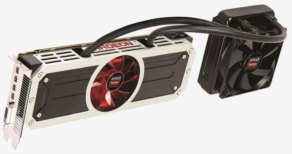 AMD Radeon R9 295X2 ร้อนแรงถึงขนาดต้องใช้น้ำหล่อเย็นช่วย
