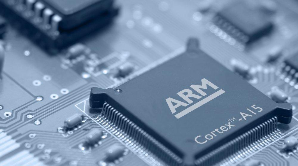 ชิพ ARM พบได้ทั่วไปในมือถือและแท็บเล็ต