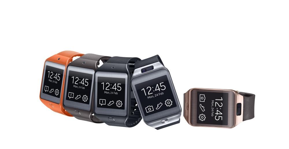 Samsung Gear 2 และ Gear 2 Neo คอมพิวเตอร์สวมใส่ที่ใช้ Tizen
