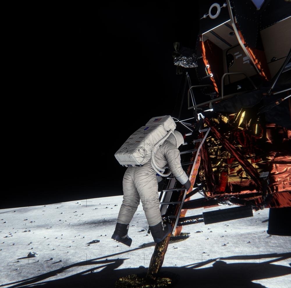 เทคนิค VXGI ถูกนำมาใช้ในการจำลองภาพถ่ายของนักบินอวกาศบนดวงจันทร์อันเป็นที่ถกเถียงว่าเป็นเพียงการสร้างฉากขึ้นมาหรือไม่ ผลสรุปคือเป็นภาพถ่ายขณะอยู่บนดวงจันทร์จริงๆ