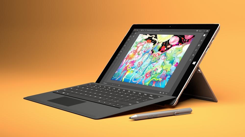 Surface Pro 3 คือแท็บเล็ตที่สามารถใช้งานได้เหมือนโน้ตบุ๊ก