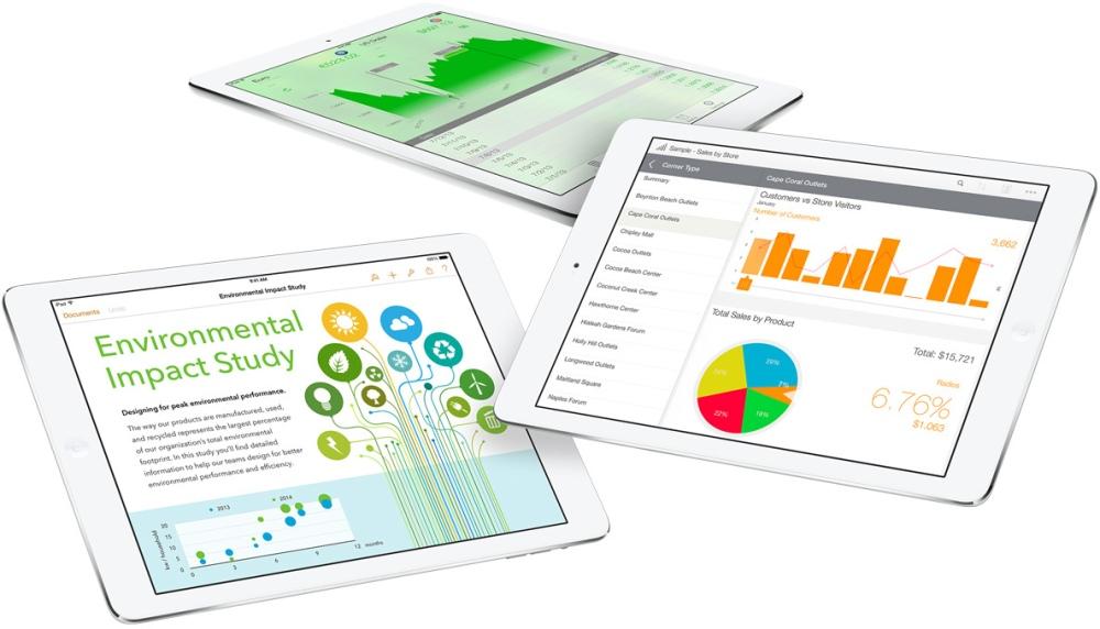 ภาพตัวอย่างแอปพลิเคชัน iOS ที่เกิดจากความร่วมมือระหว่าง Apple กับ IBM
