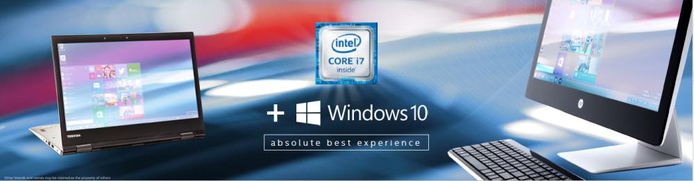 Intel Core รุ่นที่หก + Windows 10 = ประสบการณ์ที่สุดยอด