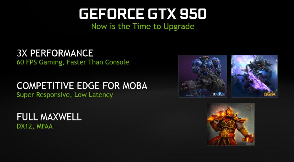 สรุปความสามารถเด่นของ GTX 950